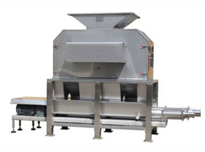 fruit peeling and extracting machine
