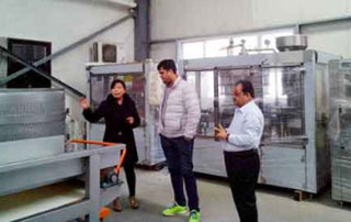 India customers ordered fruit bubble washing machine