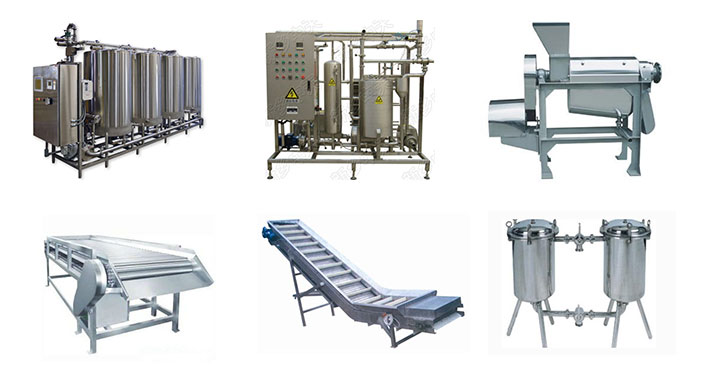 fruit juice manufacturing equipment